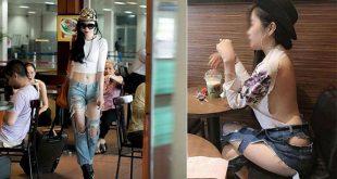 Thời trang khoe da: Người nói thời trang, người nói kệch cỡm, lố lăng