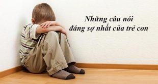 Những câu nói đáng sợ nhất của trẻ con khiến người lớn rùng rợn