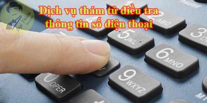 Dịch vụ điều tra thông tin số điện thoại chính chủ viettel, mbifone, vinaphone
