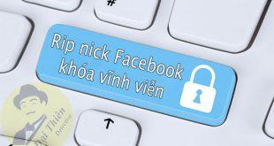 Dịch vụ rip nick Facebook, Report khóa Facebook vĩnh viễn