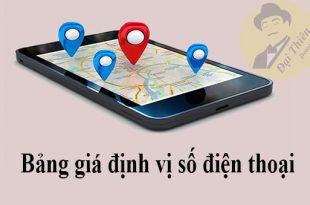 Giá thuê thám tử định vị số điện thoại Vinaphone, Viettel, Mobifone