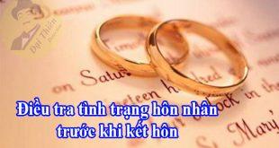 Cách tra cứu tình trạng hôn nhân thực tế của một người online