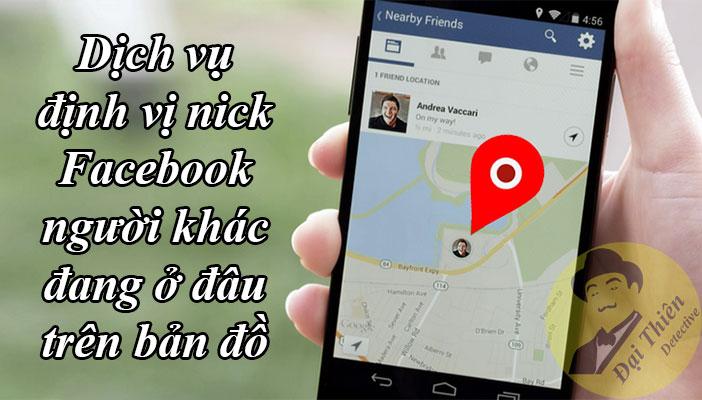 Cách xác định vị trí của người khác qua Messenger Facebook